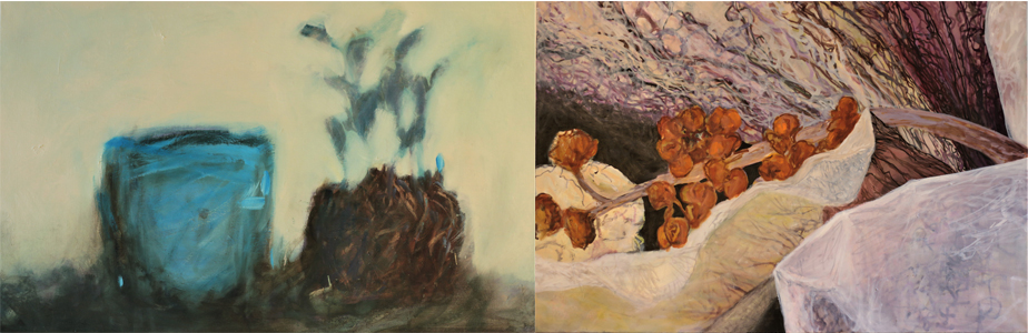 Mervi Lakkalan maalauksia